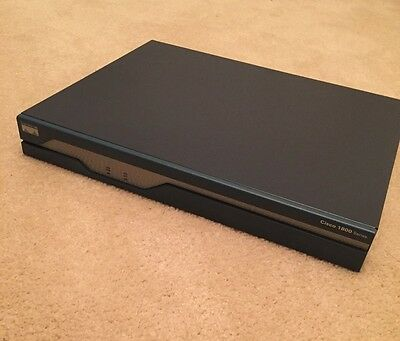 CISCO 1841 ROUTER 2x ADSL SLOTs installed