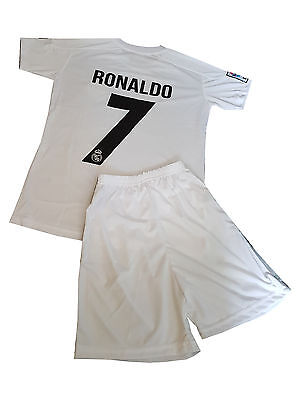 Ronaldo Football  shirt jersey Real Madrid home 2016-2017  kit for kids