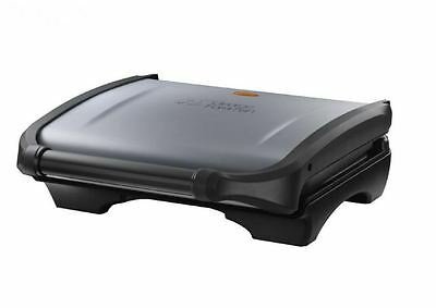 George Foreman 5 Portion Family Health Kitchen Grill Drip Tray Metallic Silver