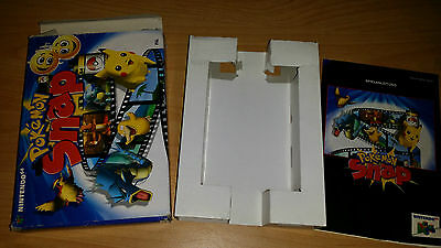 Pokemon Snap Nintendo 64 N64 PAL nur Anleitung Box Manual only