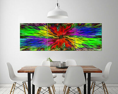 Fantasy Colorful Abstract Wall Decor Art Oil Painting on Canvas NO frame 3pc 196