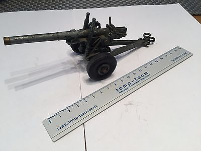 5.5 inch howitzer , diecast by 'The Crescent Toy Co. Ltd', used