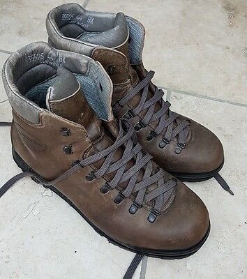 scarpa walking boots size 10 (44) leather