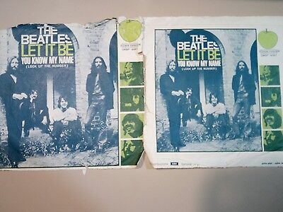 The Beatles Let it be 45 giri