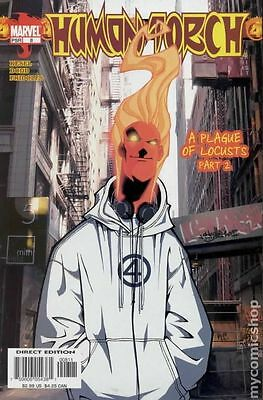 Human Torch (2003 2nd Series) #8 VG LOW GRADE