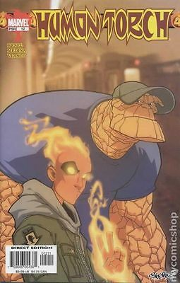 Human Torch (2003 2nd Series) #12 VF