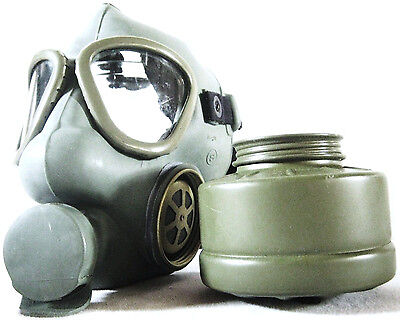 WW2 Military Gas Mask Yugoslavian M59 + removable filter Army soldier survival