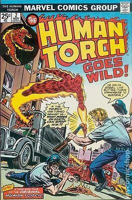 Human Torch (1974 1st Series) #2 FN 6.0