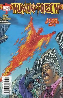 Human Torch (2003 2nd Series) #10 VF