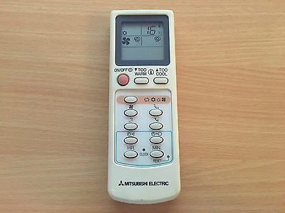 Mitsubishi Electric type EG7D hand held remote controller Air conditioning