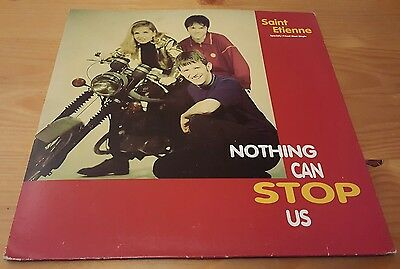 "Saint Etienne Nothing Can Stop Us 12"" Maxi vinyl"