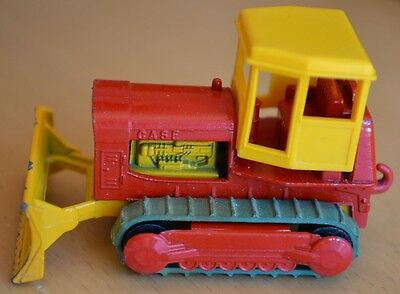 Vintage Lesney Matchbox No 16 - Case Bulldozer Tractor - Near Mint