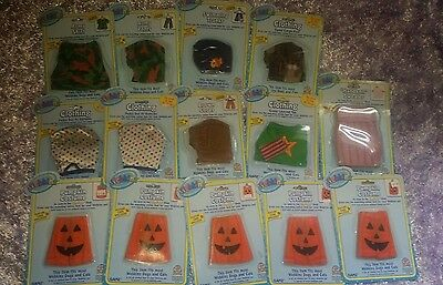 Webkinz LOT of 14 Various Kinz Clothes NIP NEW w/ Unused Codes costume dress up