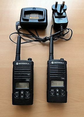 Genuine Motorola XTNiD (16 Channels) Two Way Radio With Dock Charger