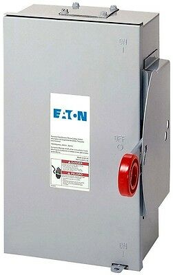 Eaton 100 Amp 24,000 Watt Outdoor Electrical Double Throw Safety Transfer Switch