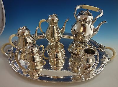 Blossom by Yvar Peterson Sterling Silver Tea Set 7pc (#1549)