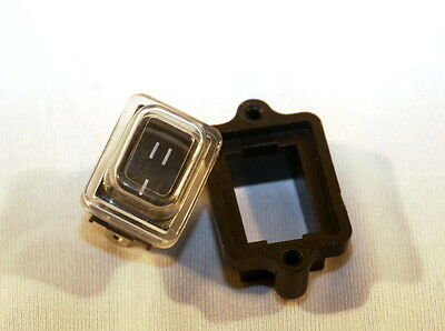 on on rocker switch 12v SPST with waterproof cover and recess for Viper boat
