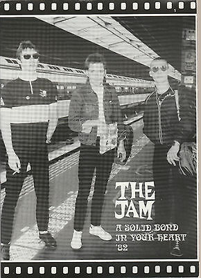 The Jam Uk 100% Official 1982 Tour Programme