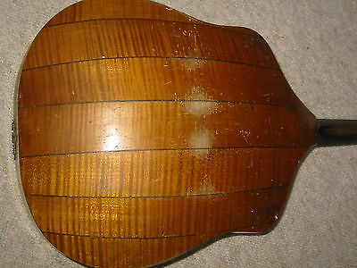 Beautifully flamed, very old WAPPEN  MANDOLIN  needs service