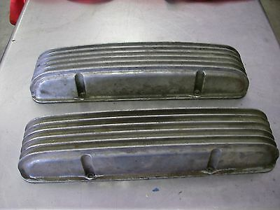 corvette chevy small block valve covers with stagger bolts hot rod rat rod