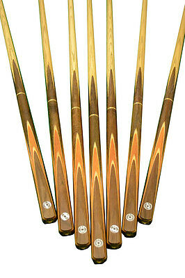 """New 57.1"""" Handmade 3/4 Snooker Cue With Ash Shaft"""