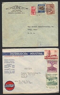 COLOMBIA 1940-50's COLLECTION OF 12 COMMERCIAL COVERS