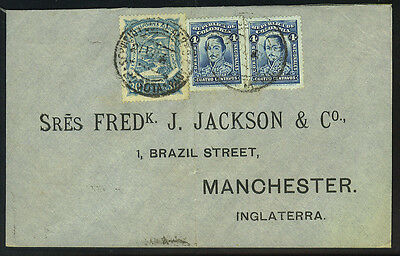 Columbia 1926 Early Air Mail To Manchester, England