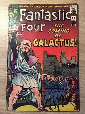 Fantastic Four #48 (Mar 1966) First Silver Surfer; First Galactus