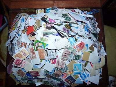 KILOWARE - 5Kg GB AND WORLDWIDE  STAMPS  /wwb.b/