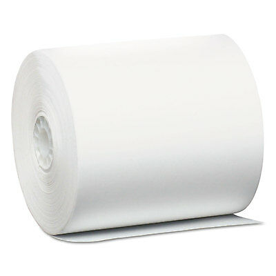 """Direct Thermal Printing Thermal Paper Rolls, 3 1/8"""" X 440 Ft, White, 24/carton-P"""