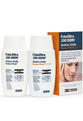 FotoUltra Isdin 100+ Active Unify SIN COLOR 50ml
