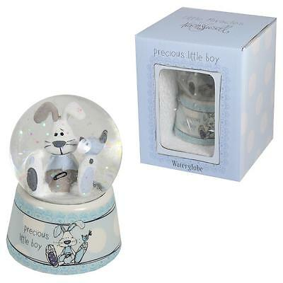 Little Miracles by Tracey Russell New Baby Gifts - BOY Glitter Waterball