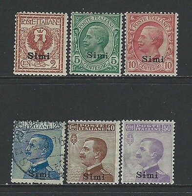 Italy - Aegean Islands - Simi - Mint Stamps (1912) Mh Mnh 1 Stamp Is Used