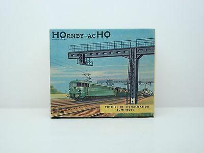 Hornby - Acho - Potence De Signalisation Lumineuse - N° 665 - Boite - Ancien -