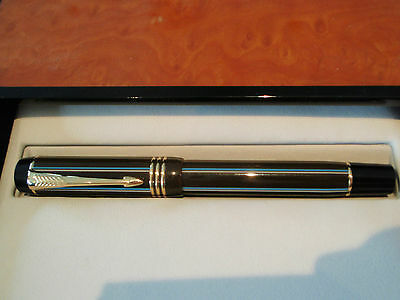Parker Duofold Pinstripe Special Edition Chocolate Centenial