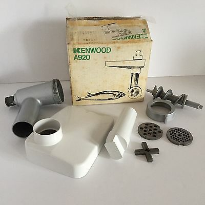 KENWOOD CHEF Mincer A920 (Fits A901 & all KM models). Excellent Condition