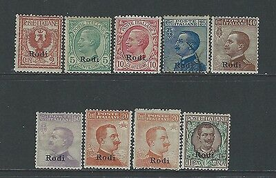 Italy - Aegean Islands - Rhodes - Mint Stamps (1912) Mh Mlh 1 Stamp Is Used