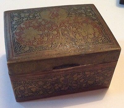 Metal Trinket Box
