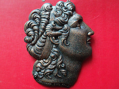 Greece  Wall Plaque of Alexander the Great- very good quality
