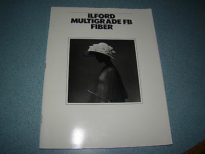 Ilford Multigrade Fb Fiber Manual 1986