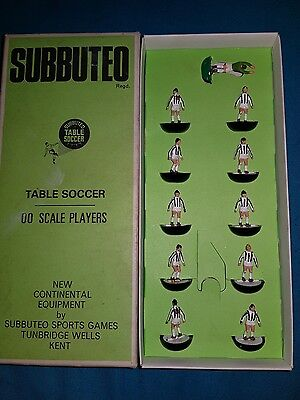 SUBBUTEO  Juventus  Vintage Heavyweight Team  00 Scale Players