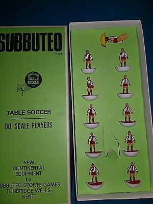 SUBBUTEO   Bayern Munchen  Vintage Heavyweight Team  00 Scale Players