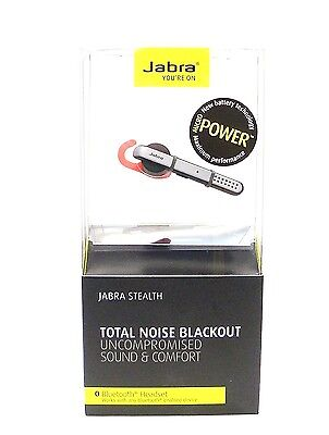Jabra Stealth Wireless Bluetooth Headset with NFC and HD Voice ( Easy-go )