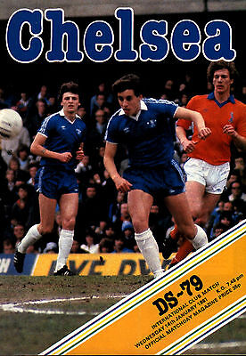 1980/81 Chelsea v DS-79, friendly, PERFECT CONDITION