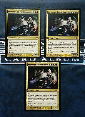 "Carte Magic Mtg "" Archange du Maelstrom / Maelstrom Archangel "" VF Conflux"