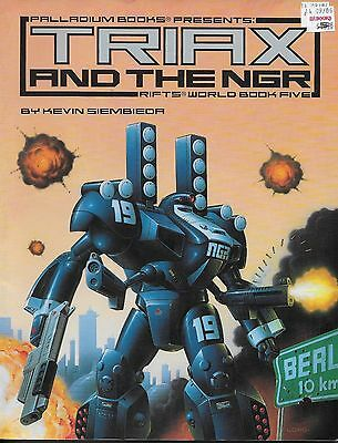 Rifts World Book 5: Triax & the NGR Paperback – Oct, 1998 used