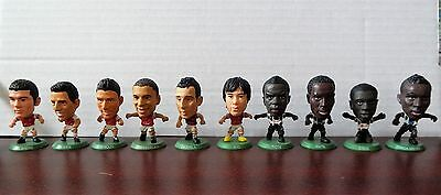 Corinthian Soccerstarz - Ten Arsenal and Newcastle United Figures 2012-2016