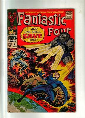 Fantastic Four #62 -Silver Surfer; Marvel 1966