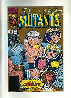 New Mutants #87 -1st Cable Marvel 1990 NM