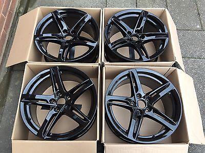 Genuine Audi 18 Inch Alloy Wheels Set (Brand New) 8T0073538C
